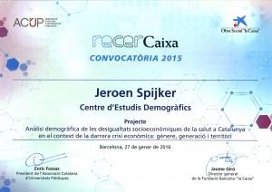 Diploma_RecerCaixa_J.Spijker